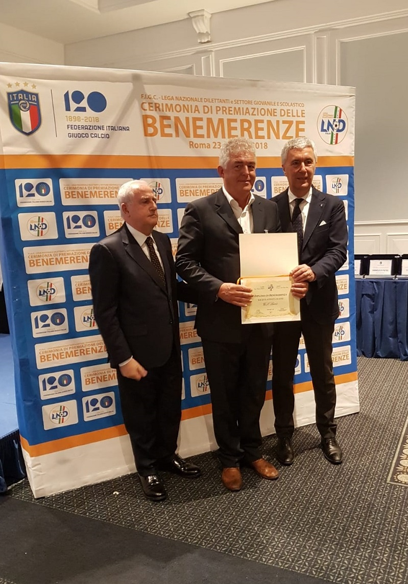 BENEMERENZE SPORTIVE 2018 - VIDEO